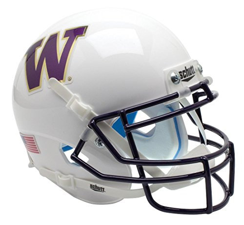 Schutt NCAA Washington Huskies Mini Authentic XP Football Helmet