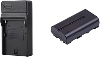 Battery and Charger Kit Bundle for the VILTROX DC-70 II Monitor