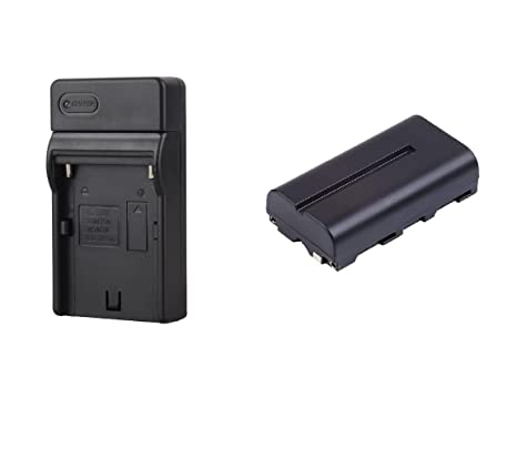 Battery and Charger Kit Bundle for The Atomos Shogun Inferno Monitor