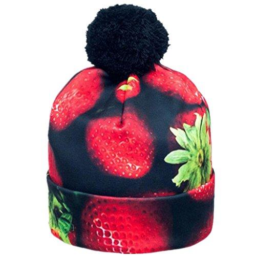 Elevin(TM)Women Ladies Outdoor Bucket Hats Cap Sun Beach Beanie Sun Protection Hat (Red) - Heather Long Costume