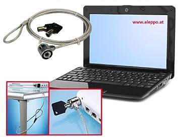 Candado Laptop Ordenador Portátil de acero al carbono de cerradura con 2 llaves: Amazon.es: Electrónica
