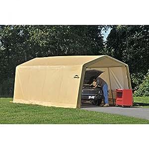Lauren & Co. Shelterlogic AutoShelter 1020 Instant Garage 10' x 20' x 8'