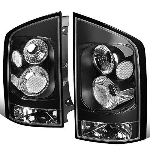 For 2005-2015 Nissan Armada Pair Black Housing Altezza Style Tail Light Brake/Parking Lamps