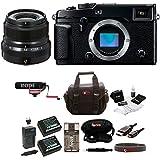 Fujifilm X-Pro2 Body + 23mm F2 R Lens (Black) w/Rode VMGO Video Mic Bundle