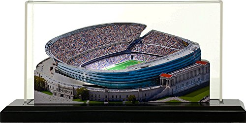 Chicago Bears Soldier Field, Small Lighted in Display Case