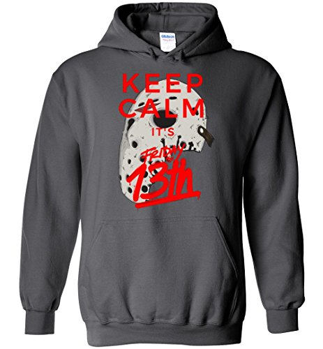 Keep Calm It's Friday The 13th - Jason Voorhees Halloween Adult/Youth Hoodie -