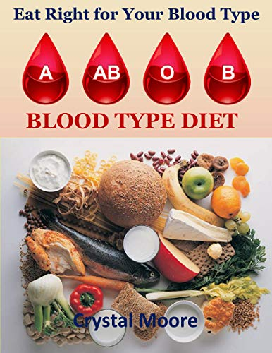 Blood Type Diet: Eat Right For Your Blood Type by Crystal Moore