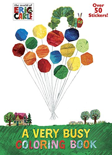VERY BUSY COLORING B (The Very Hungry Caterpillar Activities For Toddlers)