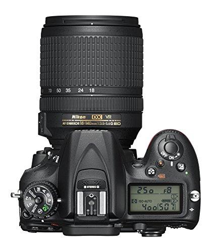 Nikon D7200 DX-format DSLR Body (Black) للبيع