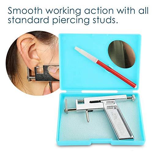(Value-Home-Tools - Professional Stainless Steel Ear Nose Navel Body Piercing Gun Ear Piercing Gun Tool Set Body Art Tattoo Makeup)