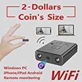 【Exchange for Free】 2019 ZTour Smallest WiFi Spy Hidden Cameras, Mini Indoor Wireless