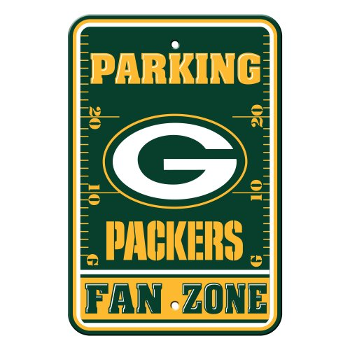 NFL Green Bay Packers Plastic Parking Signs ()