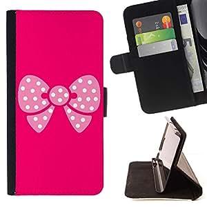 For HTC Desire 820 Case , Modelo de mariposa rosa- la tarjeta de Crédito Slots PU Funda de cuero Monedero caso cubierta de piel