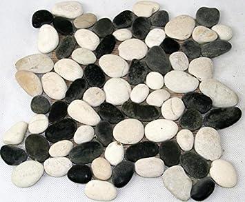Carrelage mosaïque carrelage salle de bain sol la pierre ...