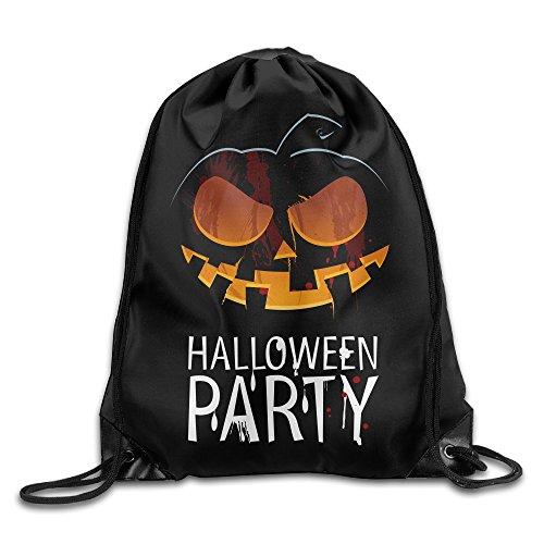Sokie Halloween Pumpkin Lantern Gym Drawstring Backpack/Travel (Halloween Costumes Seattle)