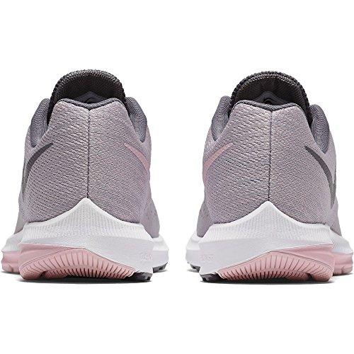 Nike Frauen Zoom Winflo 4 Laufschuh Grau / Pink-m