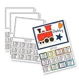 WHITE A4 CARD 2014 CALENDAR BLANKS (LANDSCAPE)