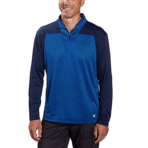 Champion Men's Active 1/4 Zip (XX-Large, Blue) … by Champion