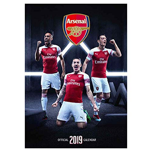 Official Arsenal FC (Premier League) 2019 Soccer Calendar