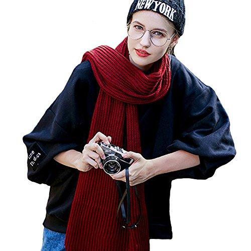 Erwachsene Mode Wickeln Häkeln Schal Männer 80store Schal Unisex