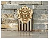 Legend of Zelda Hylian Shield Wood Comb