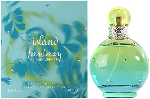 Britney Spears Island Fantasy Eau de Toilette Spray for Women, 3.3 Ounce