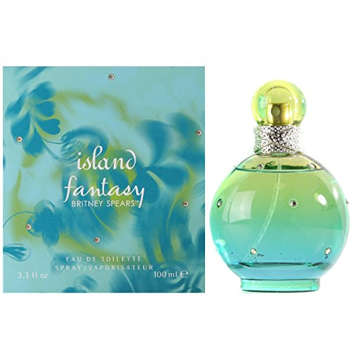 Midnight Fantasy Britney Spears - Britney Spears Island Fantasy Eau de Toilette Spray for Women, 3.3 Ounce