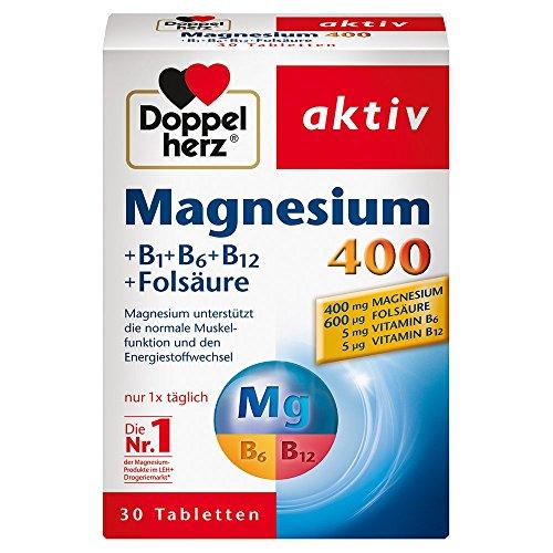 두 배 심 혼 마그네슘 400 mg 탁상용., 30 St