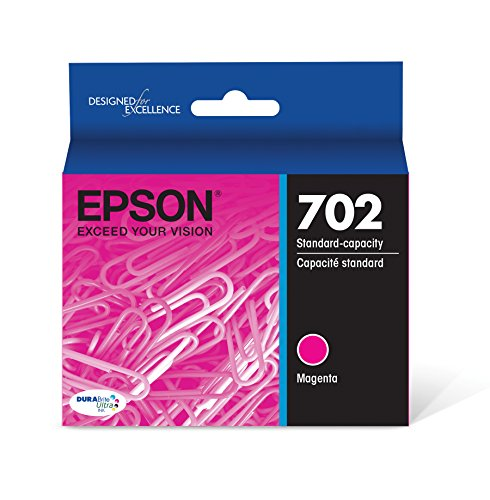 Epson T702320 DURABrite Ultra Magenta Standard Capacity Cartridge Ink