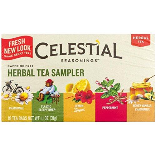 Celestial Seasonings Herbal Sampler Flavors product image
