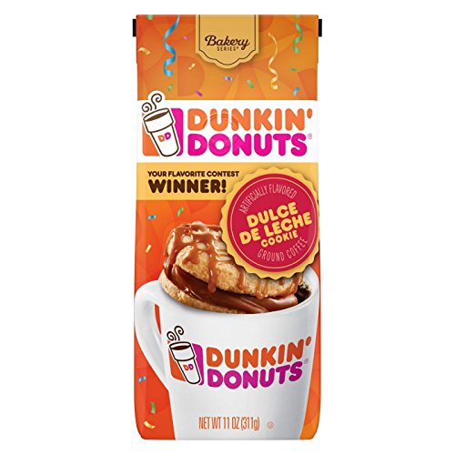 Dunkin' Donuts Dulce De Leche Cookie Coffee 11 Ounce, Pack of 1