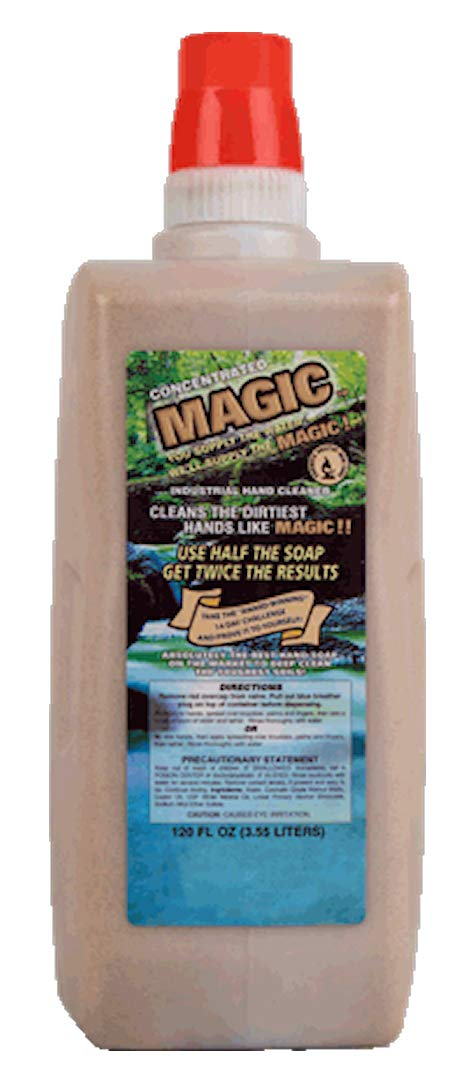 MAGIC CONCENTRATED HAND CLEANER (CASE OF 4, 120 OZ JUGS)