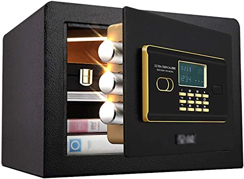 GYH Cajas fuertes Cajas Fuertes, Hotel Huella Digital Contraseña Pared Invisible Todo Acero Tres Cerraduras Mini Caja Fuerte, Antirrobo y Antirrobo 26.5x36x30cm (Color : Style1): Amazon.es: Bricolaje y herramientas