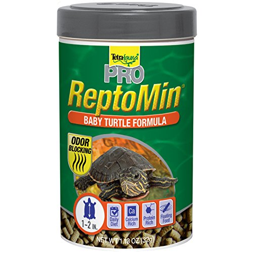 Tetra  Tetrafauna Pro ReptoMin Baby Turtle Formula Sticks, 1.13 oz. (77093) (Sticks Reptomin)