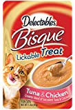 Delectables Bisque Lickable Treat - Tuna & Chicken - Pack of 12