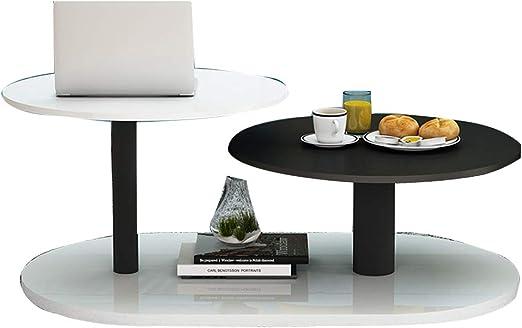 Table XIA Mesita de Centro Extremo Simple/Lado/Mesa de teléfono Mesita pequeña Redonda Mesa de Noche para Sala de Estar 7 Colores (Color : 005): Amazon.es: Hogar
