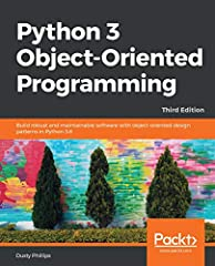 Uncover modern Python with this guide to Python data structures, design patterns, and effective object-oriented techniquesKey FeaturesIn-depth analysis of many common object-oriented design patterns that are more suitable to Python's unique s...