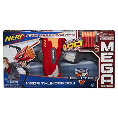 Nerf Mega ThunderBow Blaster: Toys & Games