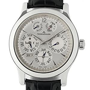 Jaeger LeCoultre Master Control mechanical-hand-wind mens Watch 161.64.2A (Certified Pre-owned)