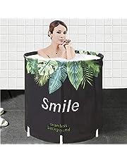 Portable Foldable Bathtub, Separate Family Bathroom SPA Tub, Soaking Standing Bath Tub for Shower Stall, Efficient maintenance of temperature, Ideal for Hot bath ice bath
