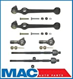 Mac Auto Parts 124993 Ford Festiva Lower Ball Joints Control Arms Inner and Outer Tie Rod Ends