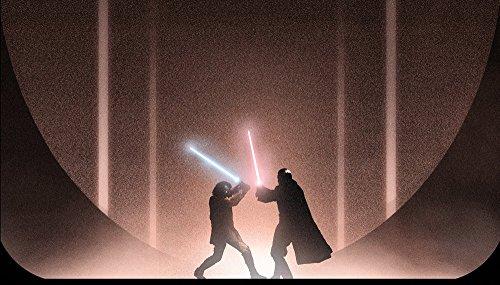 Star Wars - Movies Star Wars: Episode II jedi lightsaber Sith Lord Count Dooku Anakin Skywalker Swords Fight Wall Art, Pop Art, Poster, Art Prints   Rare Posters ()