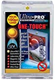 5 Ultra Pro 100pt Magnetic Card Holder Cases - Holds Thick Baseball, Football, Hockey Cards