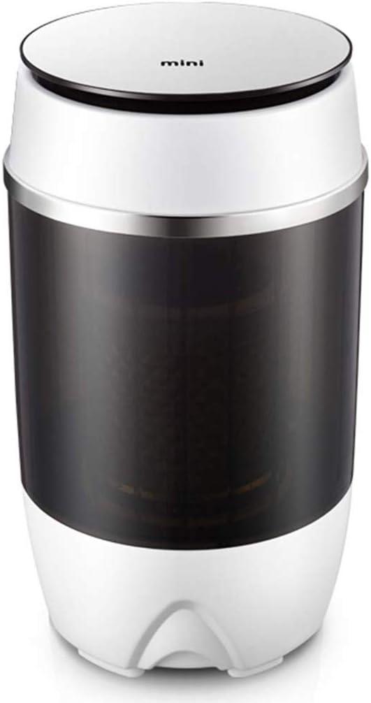 Mini Lavadora Compacta, 4.0 Kg Capacidad De Lavado Hogar Lavadora para NiñOs con Un Solo Barril, para Caravanas Al Aire Libre Apartamentos PequeñOs Residencia Estudiantil De Viaje