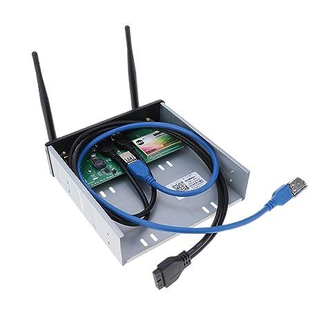 Homyl PCIE - Tarjeta WiFi inalámbrica con Ranura USB 3.0 ...