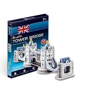 """CubicFun 3D Puzzle S-Serie """"Puente de la Torre - Londres"""""""
