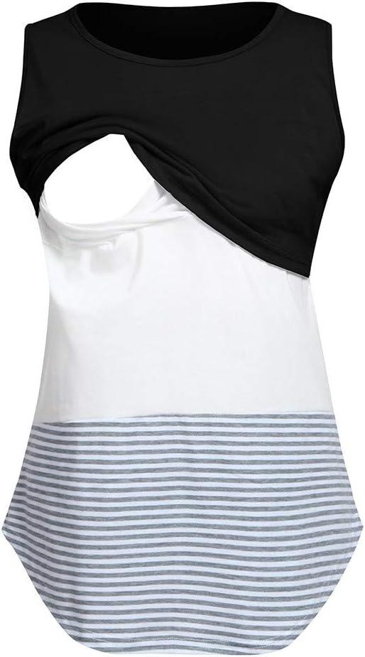Maternity Dress,BCDshop Women Short Sleeve Button Side Tunic Dress Pregnancy Clothes