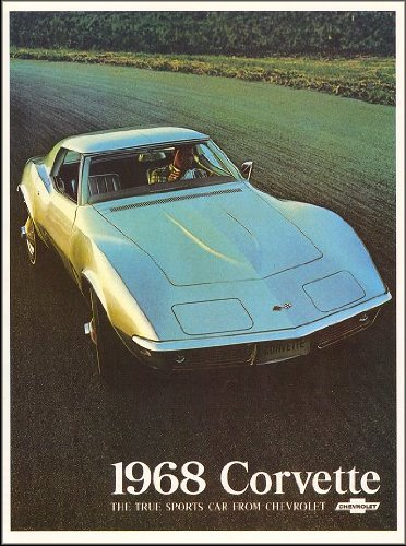 1968 Chevrolet Corvette Stingray Sales - Chevrolet 1968 Stingray Corvette