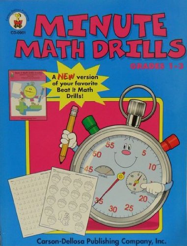 Grade Math Minutes 1 Book - 5