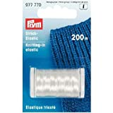 PRYM 977770 Knitting-in elastic length 200m transparent, 1 piece